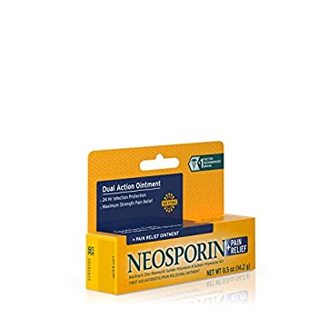 Neosporin + Pain Relief Ointment,0.50 Oz 14