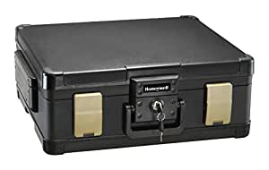 Honeywell 1104 1 Hour Fire/Water Safe Chest for Legal/letter/A4 Size Documents