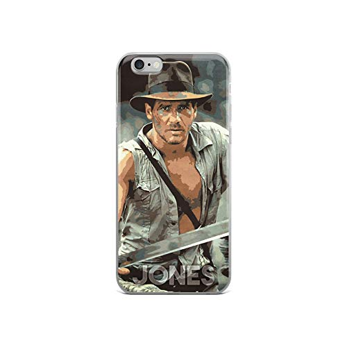 iPhone 6/6s Case Anti-Scratch Motion Picture Transparent Cases Cover Jones Action Movies Video Film Crystal Clear