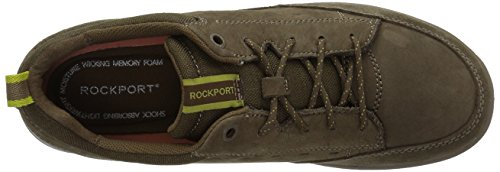 Rockport Menns Rydley Snøring Mote Sneaker Oliven Khaki