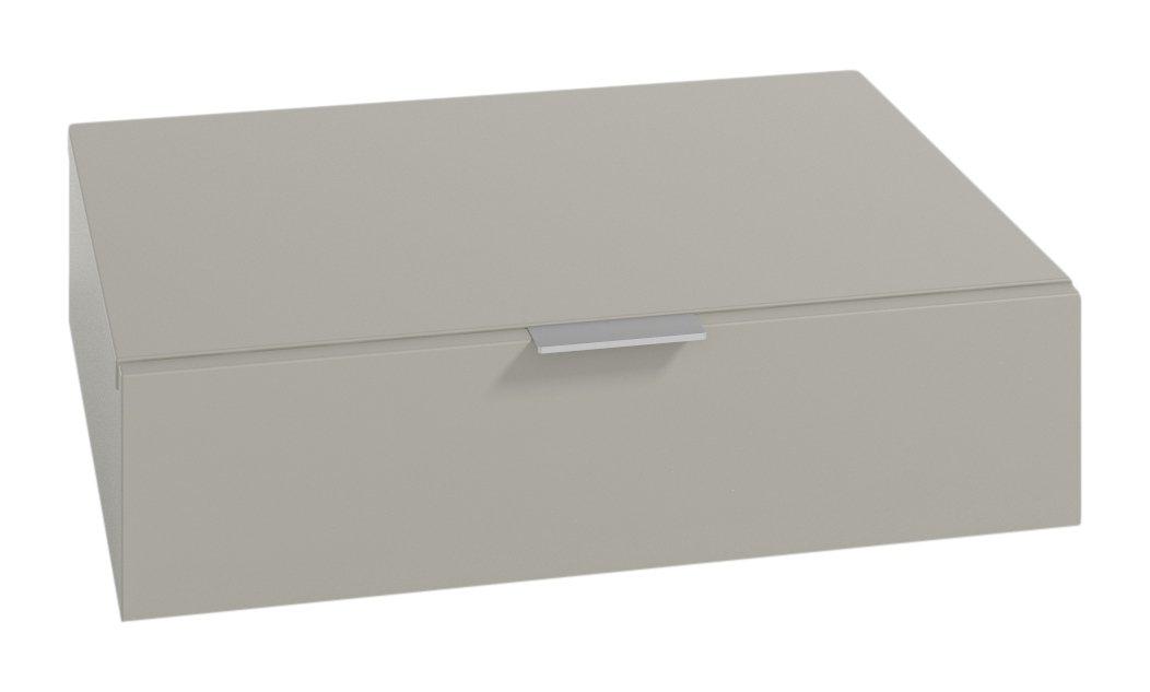 LOWE meubles tiroirs un module associable 60 x 47 x 15 cm couleur gris
