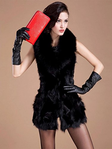 Zeagoo Fashion Damen Faux Pelz Weste