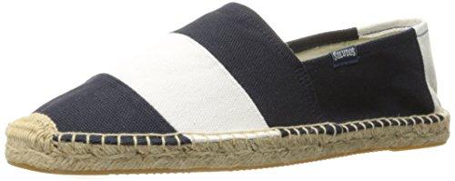 Soludos Herren Original Barca Sandale Navy Weiß