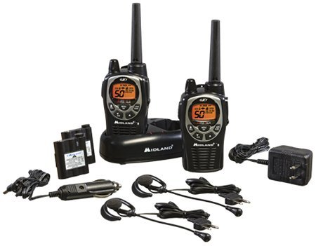 Midland GXT1000VP4 36-Mile JIS4 Waterproof 50-Channel FRS/GMRS Two-Way Radio (6 Pack ) by Midland (Image #3)