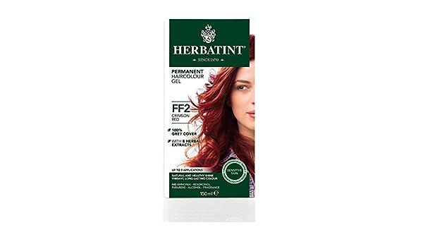 Herbatint - Tinte para el cabello sin amoniaco color rojo ...