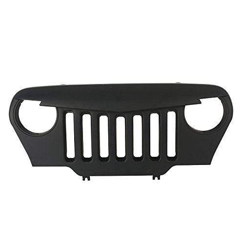 jeep wrangler grill cover - 7