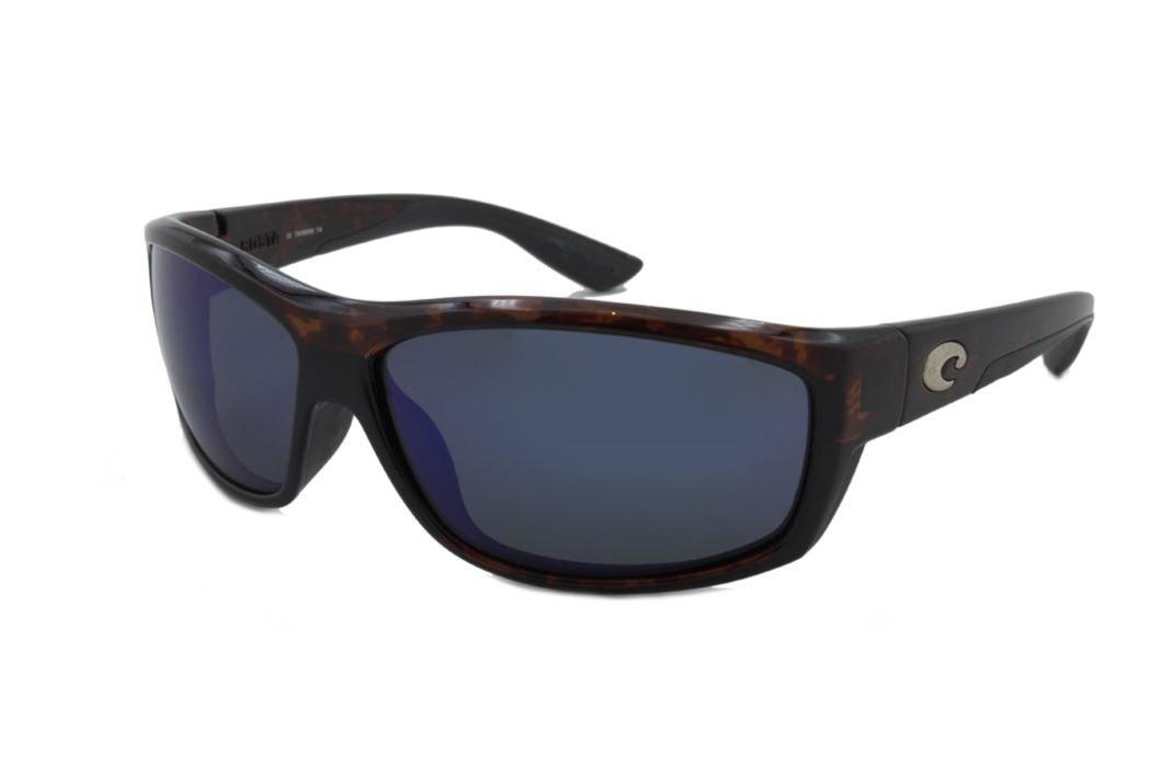 Costa Del Mar Saltbreak Sunglasses, Tortoise, Green Mirror 580Plastic
