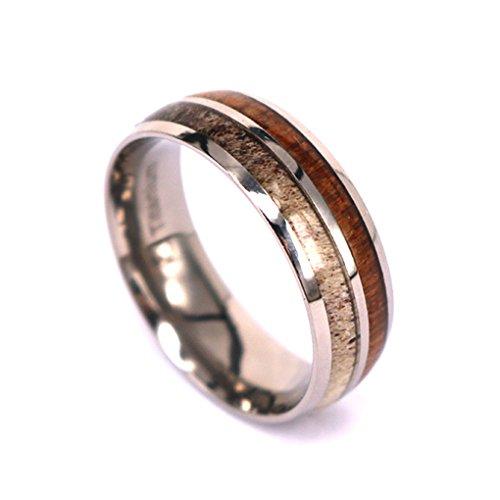 Kingswayjewelry Ktrs1 Natural Deer Antler Ring With Koa. Skull Rings. Blue Gem Sapphire. Tiffany Sapphire. Heartbeat Watches. Genuine Opal Bracelet. Breast Cancer Pendant. Ogham Wedding Rings. Breast Cancer Bracelet