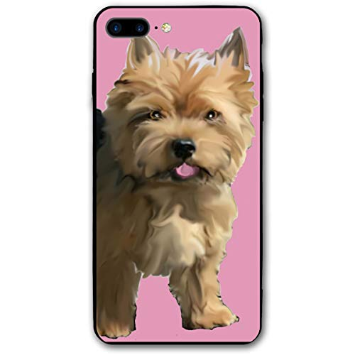 Norwich Terrier iPhone 7 8 Plus 7plus 8plus Phone Case Cover Theme Decorative Mobile Accessories Ultra Thin Lightweight Shell Pattern Printed