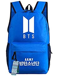 JUSTGOGO Korean Casual Backpack Daypack Laptop Bag College Bag Book Bag School Bag