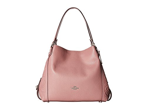COACH Women's Tea Rose Tooling Edie 31 Lh/Dusty Rose One Size