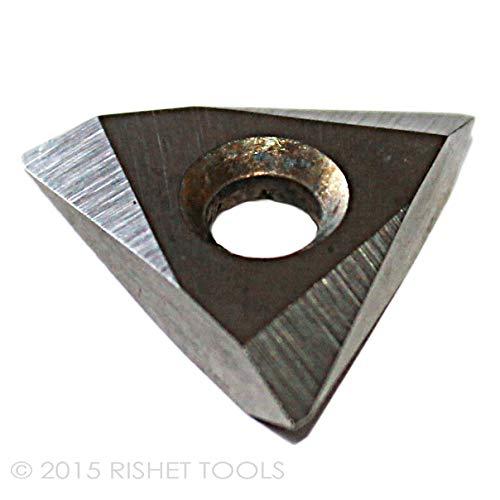 Pack of 10 RISHET TOOLS 13700 TNMC 43NV C5 Uncoated Bright Threading Carbide Inserts