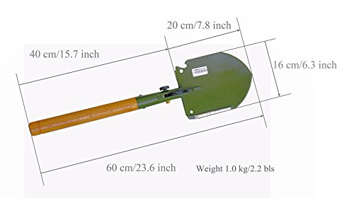 WJQ-308 Chinese Military Shovel Emergency Tools by WJQ-308 (Image #6)