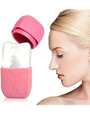 Facial Ice Roller,Ice Ball Massage Tool Siliconen Ice Cube Trays Herbruikbare Face Care Tool Gebruikt voor Sprains Stams,Verheldert de huidskleur, Verminder Acne