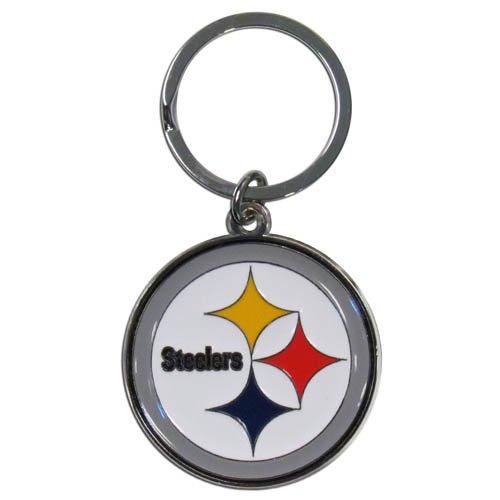 (NFL Pittsburgh Steelers Chrome Key Chain)