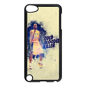 The NBA star Kobe Bryant for Apple iPod Touch 5th Black Case Hardcore-8