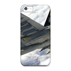 Shock-dirt Proof F 18 Super Hornet Case Cover For Iphone 5c by lolosakes