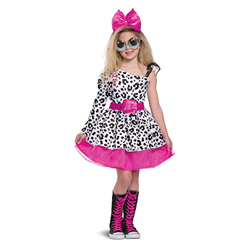L.O.L. Surprise! Diva Halloween Costume Deluxe MEDIUM 7/8 ()