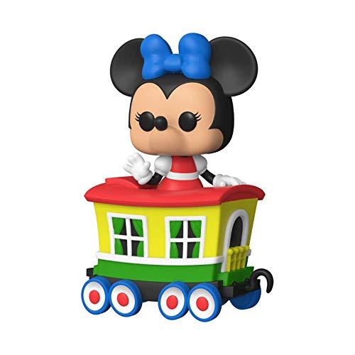 🥇 Funko Pop! Disney: Casey Jr Train Ride – Minnie in Caboose Car
