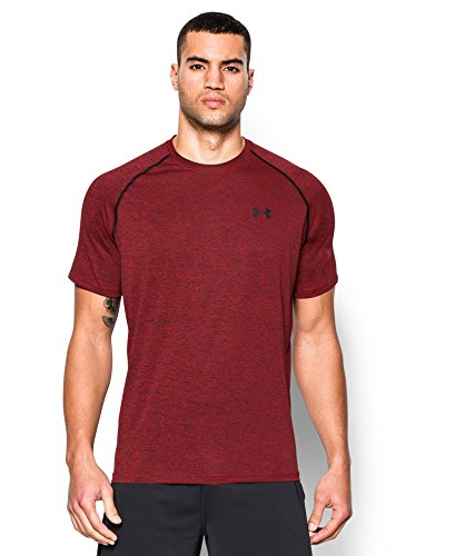 Under Armour Men's Tech Short Sleeve T-Shirt, Red (608), XX-Large (Amazon Shirt compare prices)