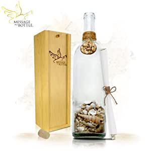 """Message In A Bottle ® """"STRANDED"""" Personalized Gift"""