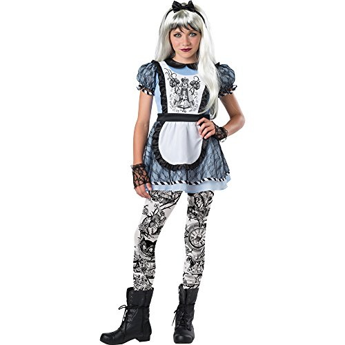 Girls Tween Dark Alice Costume