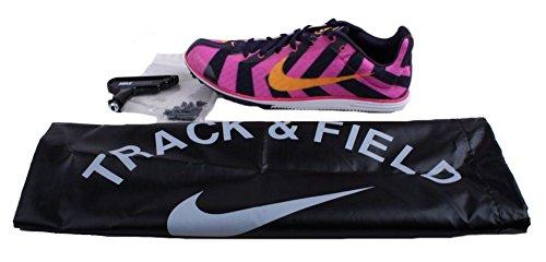 Nike Zoom Rival D 8 Unisex Lamina Rosa / Laser Arancio / Dinastia Viola Track & Field Shoes Foglia Rosa / Laser Arancione / Dinastia Viola