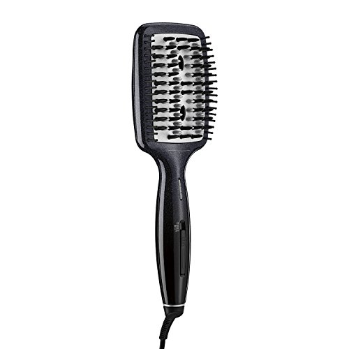 INFINITIPRO BY CONAIR Diamond-Infused Ceramic Smoothing Hot Brush/Straightening Brush; Black