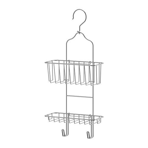 IKEA Immeln Shower Caddy Two Tiers Zinc Plated 302.526.33 Si