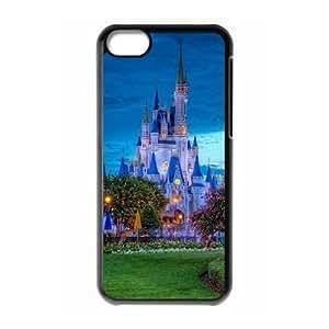 iPhone 5C Cases Cell phone Case Disney Toontown Izgxf Plastic Durable Cover