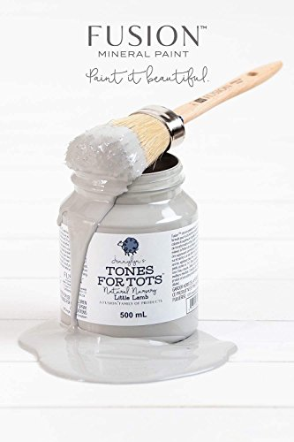 Fusion Mineral Paint 500 ml Little Lamb (Best Gray Paint For Nursery)