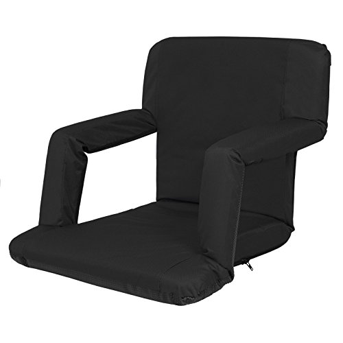 Comfortable Portable Cushion Reclining Seat Or Beach Chair Useful While Enjoy Your Camping, Watching Those Long Games - Charlotte Near Malls