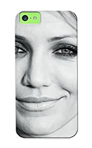 Diy iPhone 6 plus Case Provided For iPhone 6 plus Protector Case Women American Actress Models Cameron Diaz Monochrome Greyscale Phone Cover With Appearance