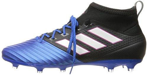 Pictures of adidas Men's ace 17.2 Primemesh fg Soccer Shoe, Black/White/Satellite, (6.5 M US) 5