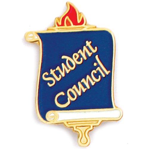 7/8' Lapel Pin (PinMart's Student Council School Teacher Enamel Lapel Pin)