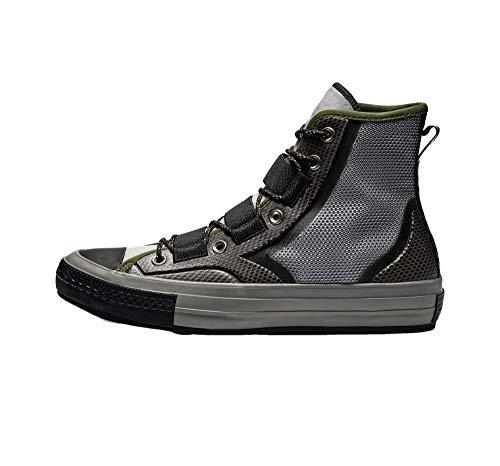 Converse Unisex Chuck '70 Tech Hiker High Top Boot (Mens 8 M US/Womens 10 M US, Mason/Herbal/Black)