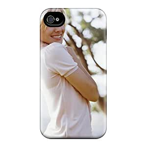 For Iphone 4/4s Tpu Phone Case Cover(kristen Bell)