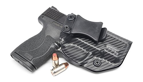 Concealment Express IWB KYDEX Holster: fits Smith & Wesson M&P SHIELD 45 ACP - US Made - Inside Waistband Holster - Adj. Cant & Retention