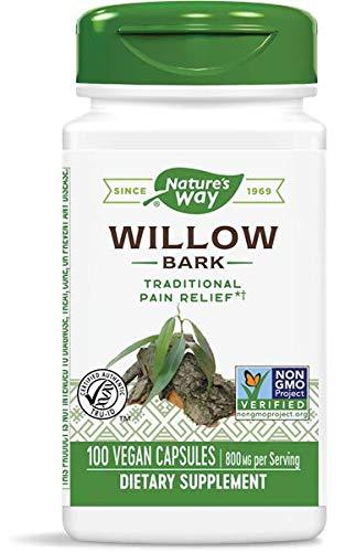 Nature's Way Willow 100 Veg. Caps (Pack of 2)