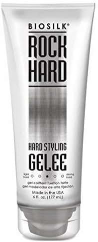 BioSilk - Rock Hard Gelee Firm Hold 150ml/6oz