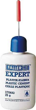 2x Expert Plastikkleber Kleber Expert Plastic Glue Modellbau Faller 170492 New