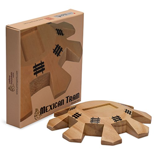 Wooden Hub Centerpiece for Mexican Train (Train Centerpieces)
