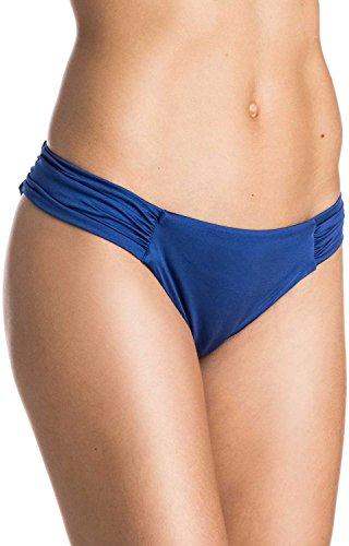 (Roxy Womens Wrapsody Base Girl Bottom Swimwear Small Mazarine Blue)