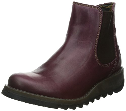 Purple Purple Salv Women Fly Chelsea London Boots wqZAZO1x