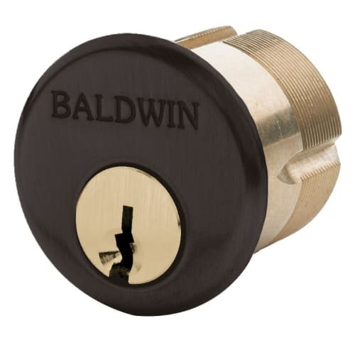 Baldwin 8322 1-1/8'' Mortise Cylinder C Keyway, Venetian Bronze