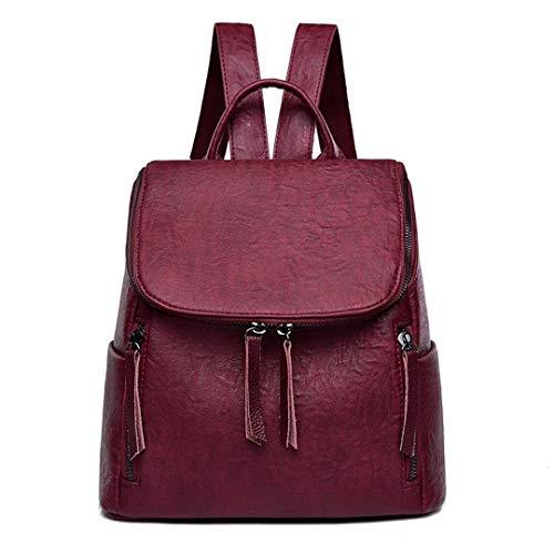 Diseño Mujeres Brown De Capacidad Viaje Niñas Escolares Para Backpacks Lujo Black Estilo Gran Mochila Casual Mochilas Bx5nSHwqH