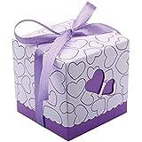 Amazon.com: 1 caja de regalo de hierro redondo para ...
