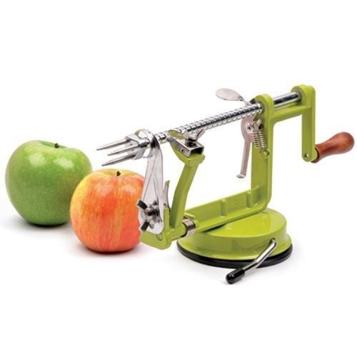 RSVP Apple Slicer, Corer, and Peeler (Green) by RSVP International