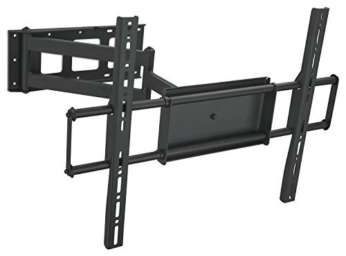 Mount-It! MI-359 TV Wall Mount Full Motion Bracket Articulating Swivel TV Stand for Flat Screen LCD, LED Plasma TVs 32, 40, 42, 48, 49, 50, 51, 52, 55, 60 inch VESA 200x200 to 600x400, Corner Long Arm