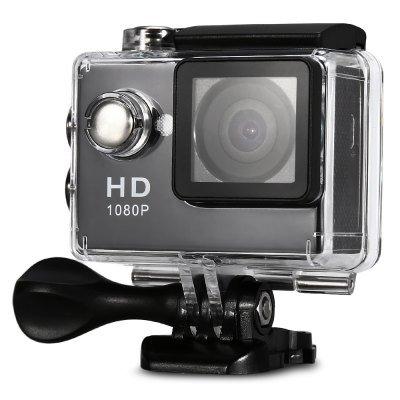 HD 1080P MJPEG 2 inch LCD IP68 30m Waterproof Sports Action Camera DVR ()